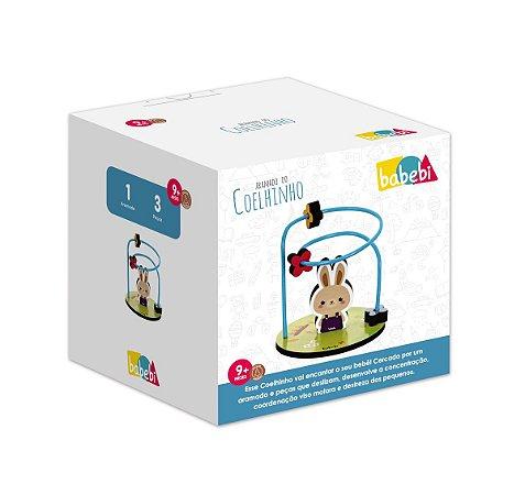 Brinquedo Coordenação Motora Aramado do Coelhinho Babebi