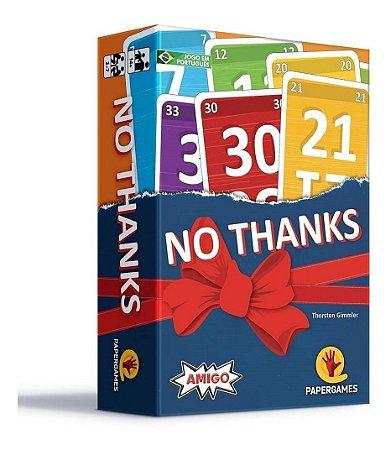 No Thanks! - Jogo De Cartas - Papergames Pocket Game