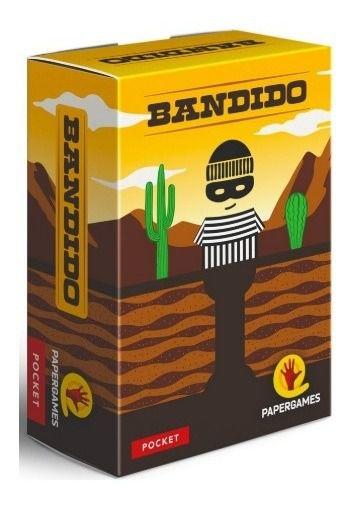 Bandido - Jogo De Cartas - Papergames Pocket Game
