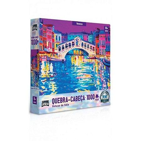 Quebra-cabeça 1000 Peças Pinturas Da Itália Veneza Toyster