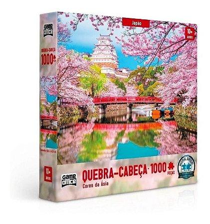 Puzzle Quebra-cabeça Cores Da Ásia Japão 1000 Peças Toyster