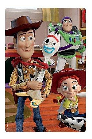Quebra Cabeça Puzzle Infantil 100 Peças Toy Story 4 Toyster