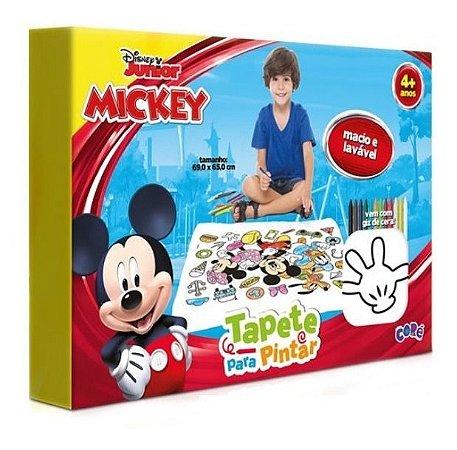 Tapete P/ Pintar Giz De Cera Lavável Mickey Disney Toyster