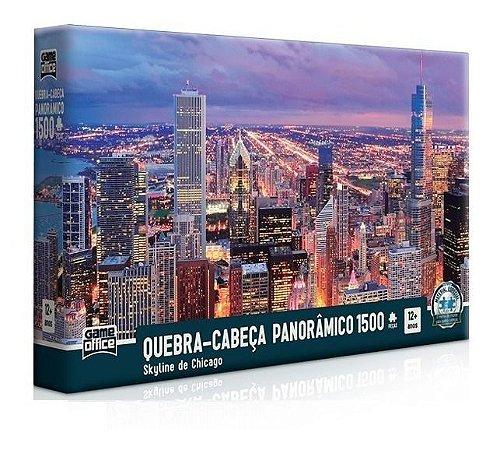 Quebra Cabeça 1500 Peças Panorâmico Chicago