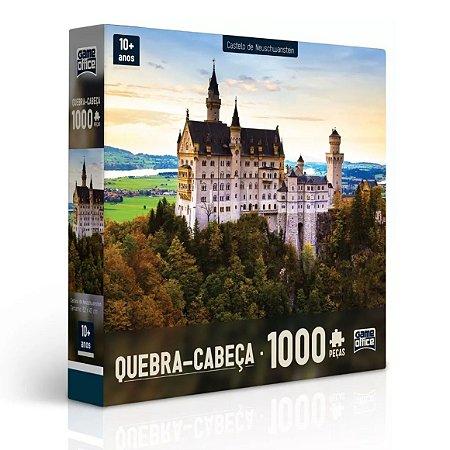 Puzzle Quebra Cabeça Castelo Neuschwanstein P1000 Toyster