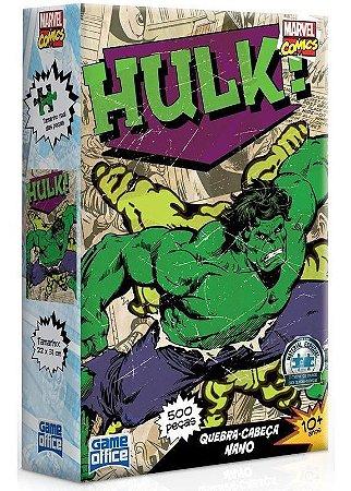 Quebra-cabeça 500 Peças  Marvel Comics Hulk Toyster