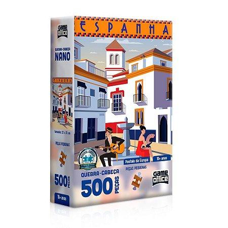 Quebra-cabeça  500 Peças Postais Da Europa Espanha Toyster
