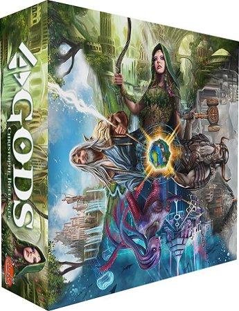 4gods - Jogo De Tabuleiro -  Board Game Conclave