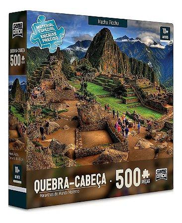 Quebra Cabeça 500 Peça Maravilhas Mundo Moderno Machu Picchu