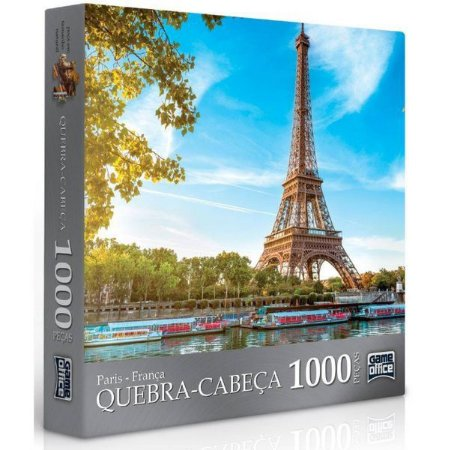 Quebra Cabeça Paris 1000 Peças Toyster