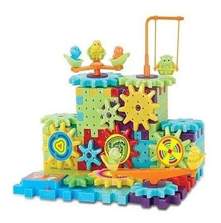 Engrenagem Maluca Brinquedos De Montar- 81 Pçs