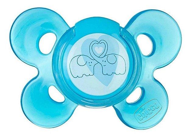 Chupeta Chicco Physio Comfort Tam 2 (6-12m) - Chicco Azul