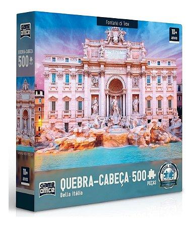 Quebra Cabeça 500 Peças Bella Itália Fontana Di Trevi