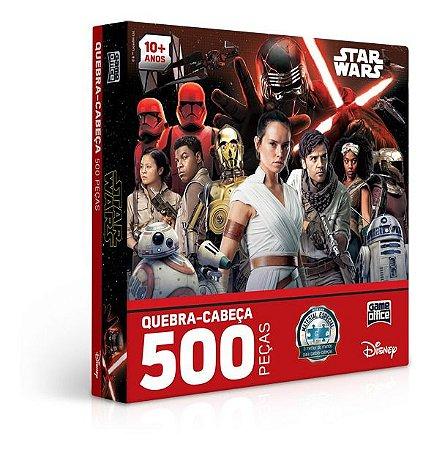 Quebra-cabeça 500 Peças - Star Wars Ix - Ascensão Skywalker