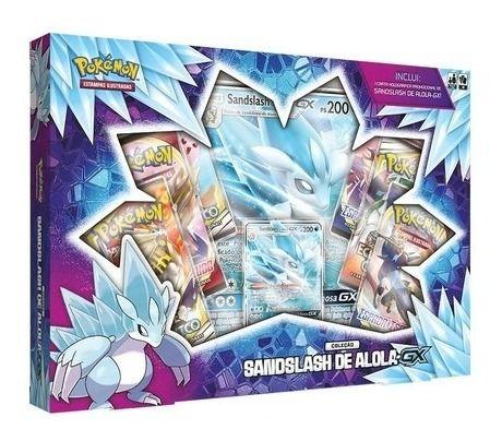 Box Sandslash De Alola Gx - Copag Pokémon