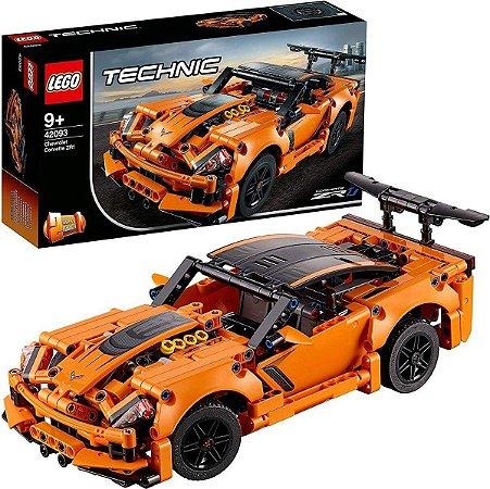 Lego Technic Chevrolet Corvette Zr1 -579 Peças - 42093