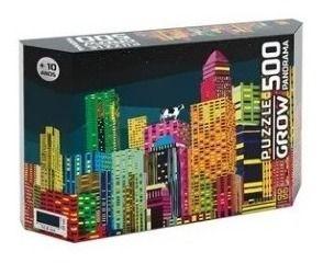 Quebra-cabeça Puzzle P500 Peças Panorama Eu Vi Uma Vaca Grow