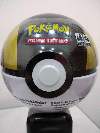 Pokemon Lata Pokebola Preta E Amarela 90714 Copag