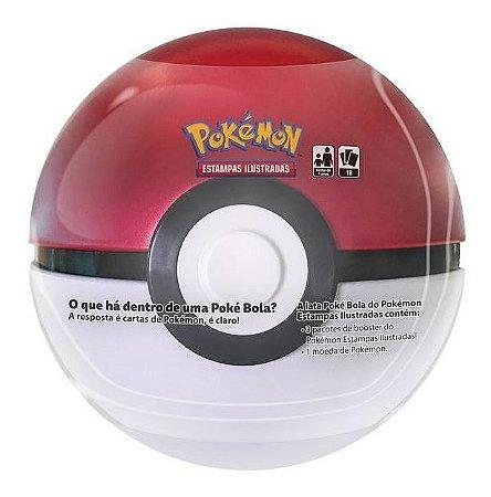 Pokemon Lata Pokebola  Vermelha - Super Poké Bola