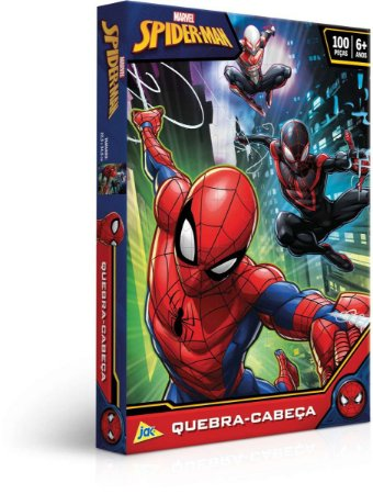 Quebra-cabeca Cartonado Spider-man 100pcs Toyster Unidade