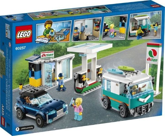 Lego City - Posto De Gasolina 60257