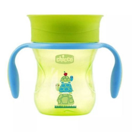 Copo 360 Perfect Cup 12+ Neutro Verde Chicco 69513