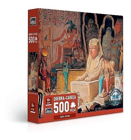 Quebra Cabeça 500 Pç Egito Antigo 2692 Toyster