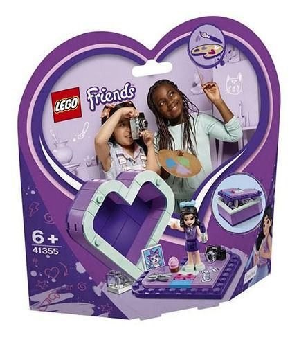 Lego Friends - Caixa De Coração Da Emma 41355