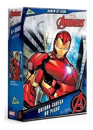 Quebra Cabeça 60 Peças Os Vingadores Homem De Ferro Toyster