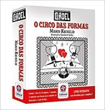 Livro Cordel O Circo Das Formas Estrela Cultural