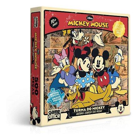 Quebra-cabeça Disney Puzzle 500pcs Turma Do Mickey Toyster