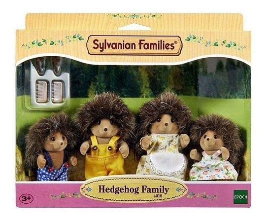 Sylvanian Families Família Dos Porco Espinhos  Epoch 4018