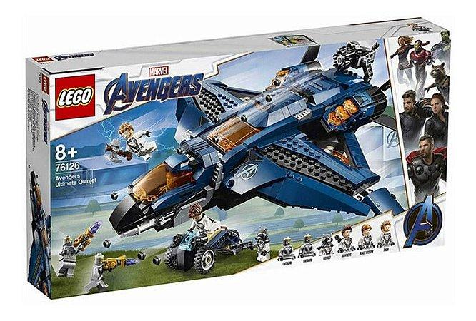 Lego Quinjet Dos Vingadores Marvel Super Heroes 838 Peças