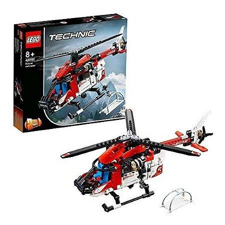 Lego  42092 Technic Helicóptero Do Salvamento