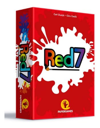Red7 - Jogo De Cartas Papergames