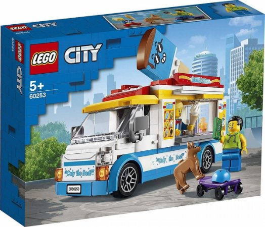 Lego City Van De Sorvete 200 Peças 60253