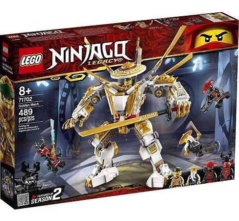 Lego Ninjago 71702 Robo Dourado 489 Pecas