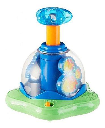 Brinquedo Para Bebês Press E Glow Spinner Bright Starts10042