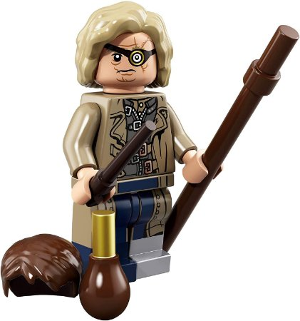 Mad Eye Moody Minifigure HP e Animais Fantásticos 71022