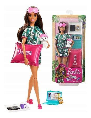 Barbie Fashionista - Dia De Spa Relaxamento Gkh73 Mattel