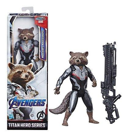 Boneco Marvel Vingadores Rocket Power Fx Hasbro E3308