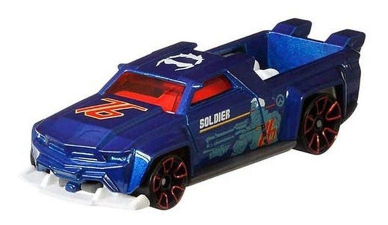 Carrinho Hot Wheels Overwatch  Soldier  Hot Wheels Mattel