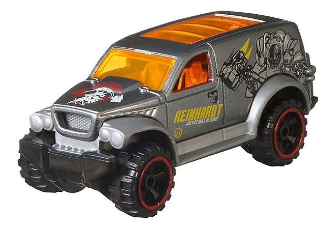 Carrinho Hot Wheels Overwatch Reinhardt  Mattel