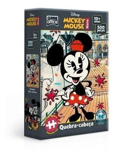 Quebra Cabeça Nano 500 Peças  Minnie Mouse  Toyster