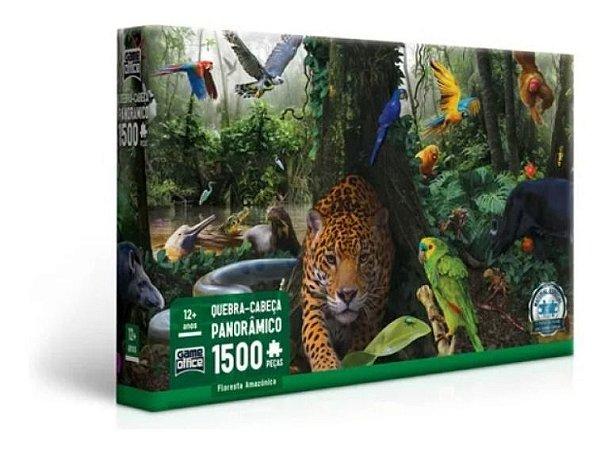 Quebra-cabeça Puzzle Floresta Amazônica 1500 Pçs Toyster