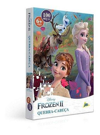 Quebra Cabeça  Frozen II 100 Pçs Encapado Toyster