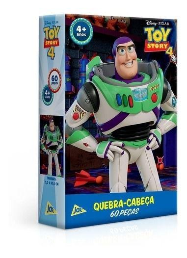 Quebra-cabeça P60 Peças Toy Story 4 Buzz Lightyear