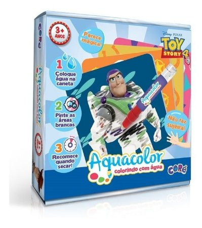Toy Story 4  Aquacolor  Colorindo Com Água Toyster