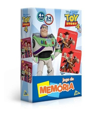 Jogo De Memória Disney Toy Story 4 - Toyster