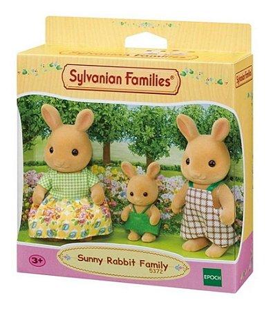 Sylvanian Families Família Coelhos Raio De Sol  Epoch 5372